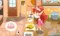 Фея готовит еду