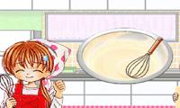 Девочки готовят еду для мальчика