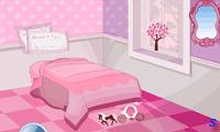 Маленькая принцесса делает интерьер комнаты