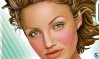 Реальный макияж Кэмерон Диаз