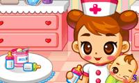 Няня в больнице