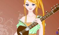 Одеваем музыкальную девушку