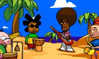 Музыкальная группа на море