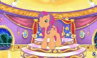 Дружественные пони на балу