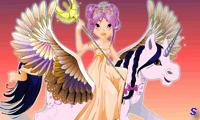 Красавица и летающий пегас