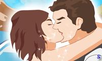 Незаметный поцелуй в поезде