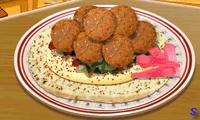 Фалафель на кулинарной кухне Сары