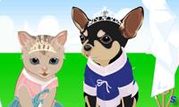 Одеваем свадебных животных