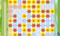 Построй цветы в линию