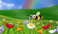 Собери пыльцу с цветов