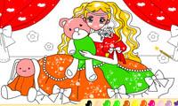 Раскраска для девочек