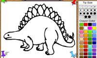 Раскраска дракона