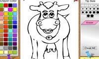 Раскраска коровы