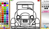 Раскраска машины для мальчиков