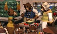 Семья медведей в поисках отличий