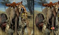 Найди отличия в животных
