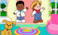 Детская развивающая игра: угадай кто пришел