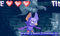 Летучая мышь в замке с привидениями