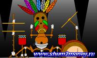 Мальчик индеец барабанщик