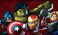 Лего драка: супергерои объединяются