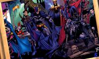 Бэтмен пазл: враги и друзья