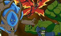 Скачать игры бен тен 10 омниверс где можно превращаться и все супергерои