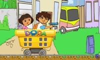 Приключение Диего и Даши на железной дороге