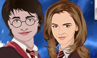 Поцелуй Гарри Поттера и Гермионы