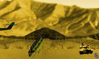 Халк бросает танки
