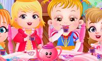 Чайная вечеринка Малышки Хейзел