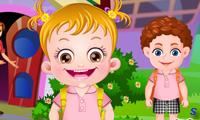 Малышка Хейзел в детском саду