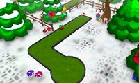 Играем в гольф на Новый год