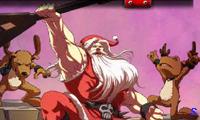 Веселый дед Мороз рокер