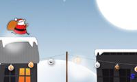 Дед Мороз бегает по крышам