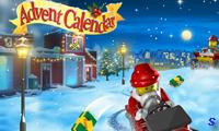 Лего Сити: новогодний календарь