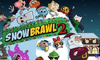 Снежная драка 2 - игра в снежки
