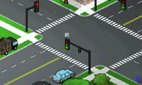 Регулировка движения в городе