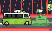 Автобус бомбардировщик на мосту