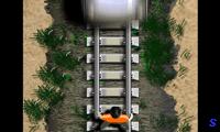 Успеть убежать от поезда