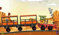 Товарный поезд: гонки на поездах