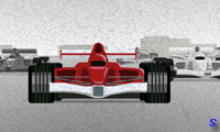 Формула 1 на треке 3д