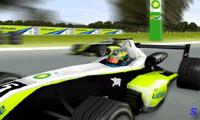 За рулем гоночного болида