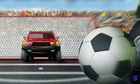 Футбол 4х4 на внедорожниках