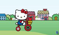 Хелло Китти: езда по городу