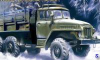 Военный грузовик УРАЛ-4320