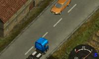 Водитель грузовика Скания