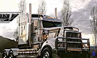 Вождение по городу на грузовике