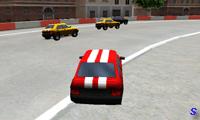 Гонка на машинах по городу