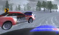 Зимняя гонка на машинах