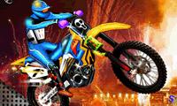 Дьявол на мотоцикле 3д